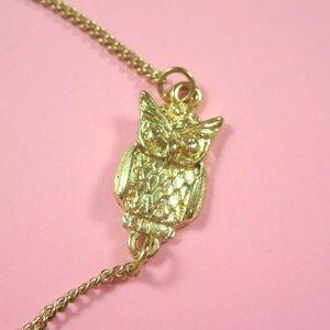 ASOS Delicate Owl Bracelet